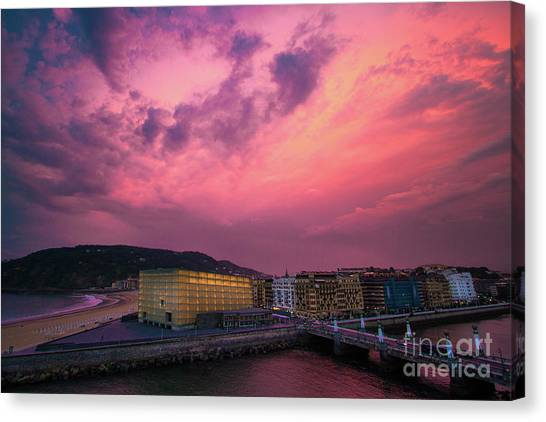 Cloudy  Canvas Print