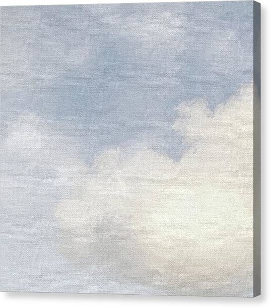 Cloudy Skies Canvas Print