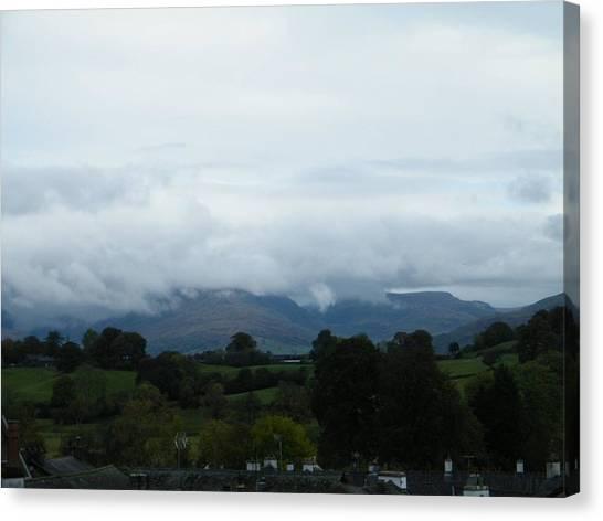 Cloudy View Canvas Print