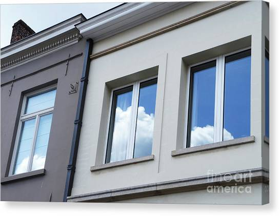 Cloudy Windows Canvas Print