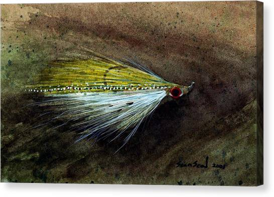 Clouser Minnow Canvas Print
