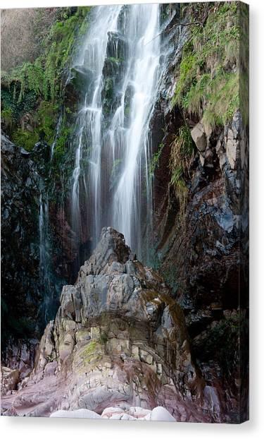 Clovelly Waterfall Canvas Print
