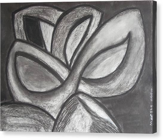 Clover Leaf Canvas Print by Marsha Ferguson