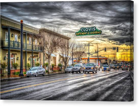 Clovis California Canvas Print