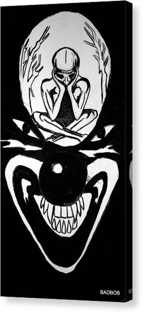 Clowning Canvas Print