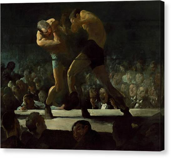 Bellows Canvas Print - Club Night by George Bellows