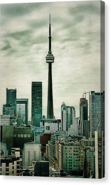 Cn Tower Canvas Print