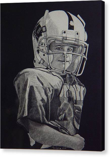 coach am I up Canvas Print by Ron Sylvia