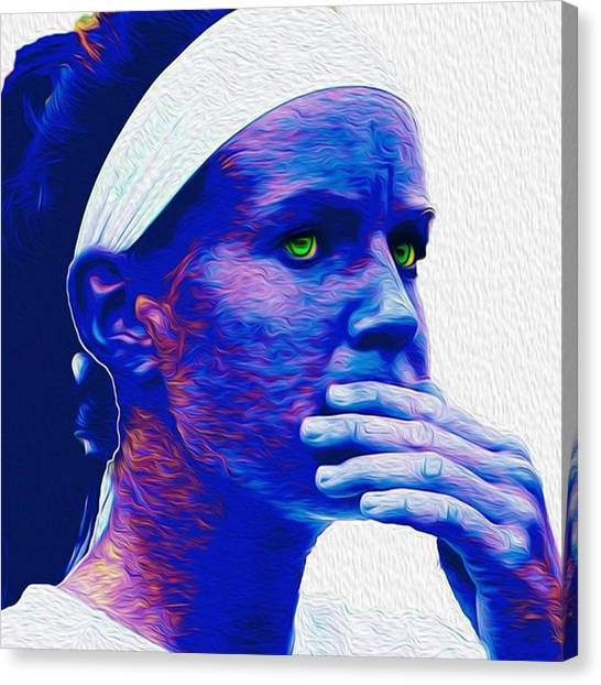 Soccer Leagues Canvas Print - #coach #painting #painted #art #fineart by David Haskett II