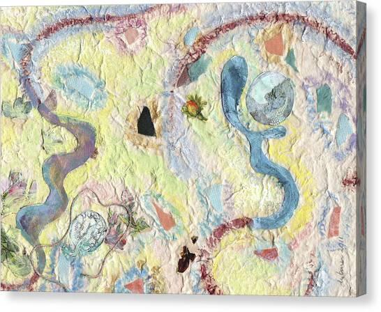 Coalescing - 3 Canvas Print