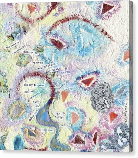 Coalescing - 6 Canvas Print