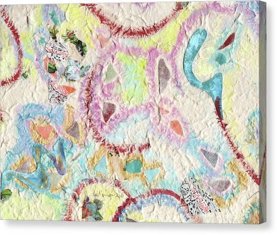 Coalescing - 4 Canvas Print
