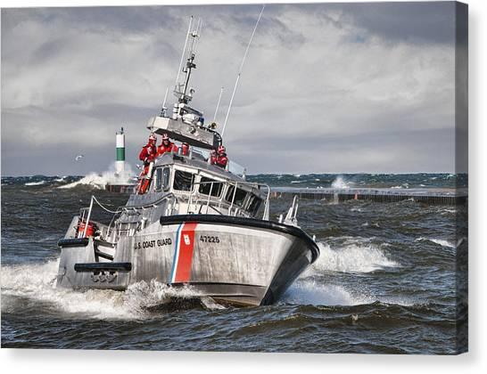 Coast Guard Canvas Print - Coast Guard by Wade Aiken