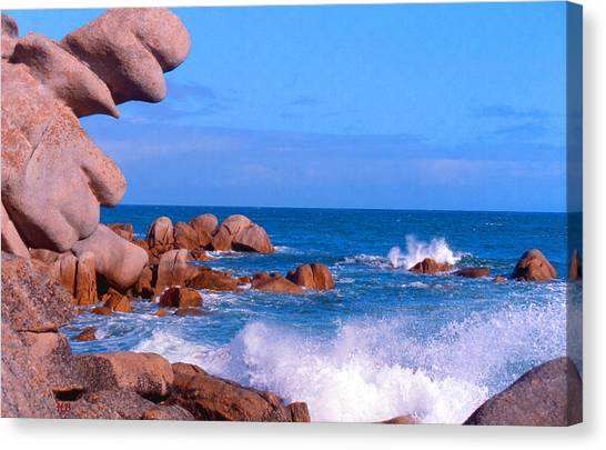 Coast Of Brittany Canvas Print