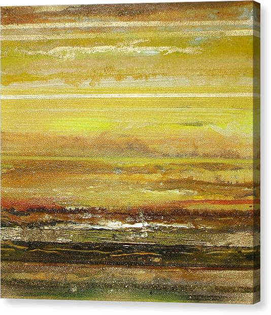 Coast Series Yellow Am9 Canvas Print by Mike   Bell