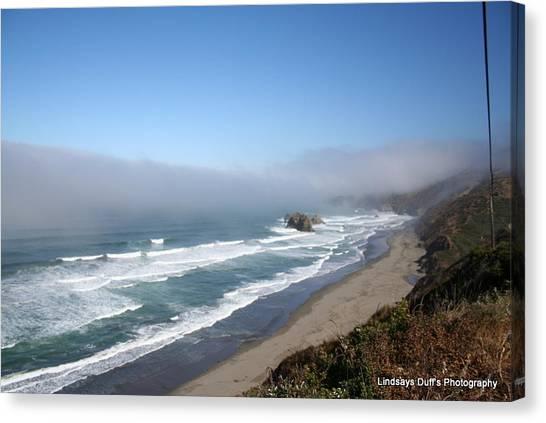 Coastal Beauty Canvas Print by Lindsay Duff