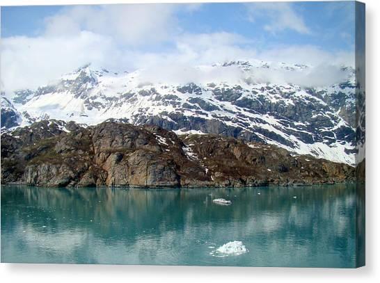 Coastal Beauty Of Alaska 5 Canvas Print