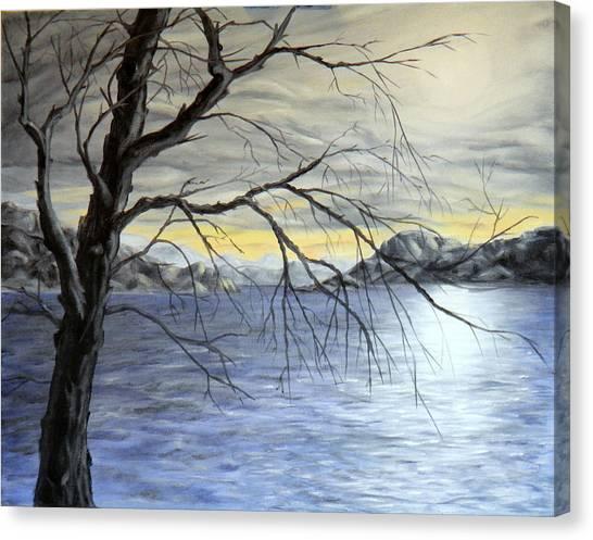 Coastal Evening Canvas Print