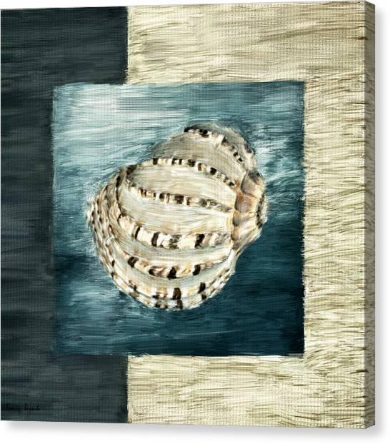 Cottage Style Canvas Print - Coastal Jewel by Lourry Legarde