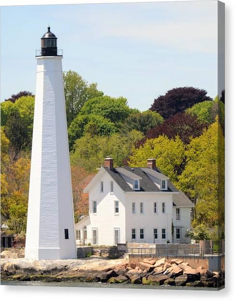 Coastal Lighthouse-c Canvas Print