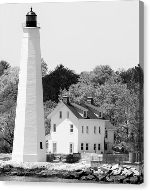 Coastal Lighthouse Canvas Print