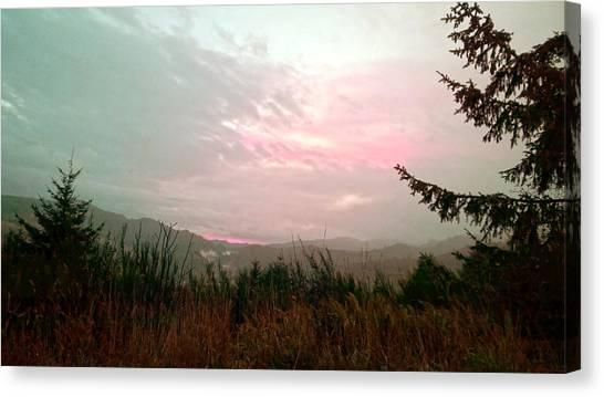 Coastal Mountain Sunrise Viii Canvas Print
