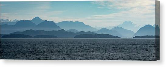 Coastal Mountains Canvas Print
