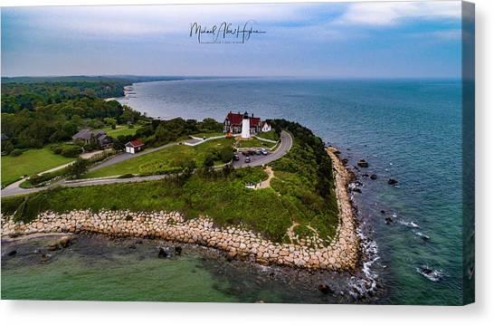 Coastal Nobska Point Lighthouse Canvas Print