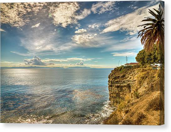 Coastal Ocean View Canvas Print