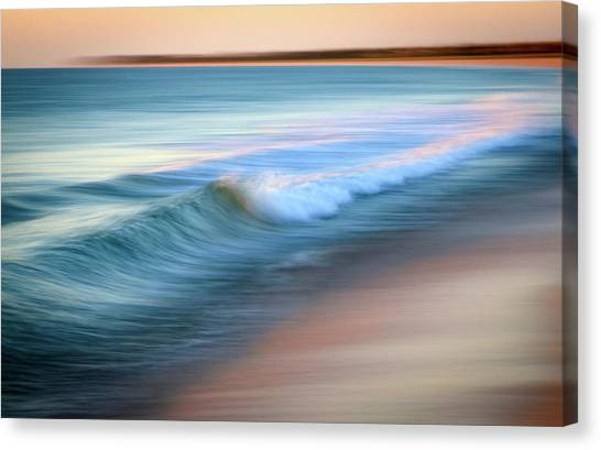 Coastal Ocean Wave Canvas Print