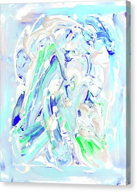 Coastal Splash Canvas Print