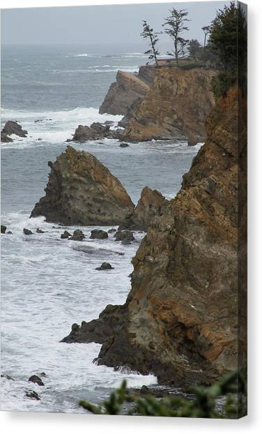 Coastal Storm Canvas Print
