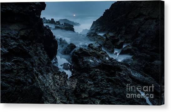 Coastal Trail Long Exposure Canvas Print