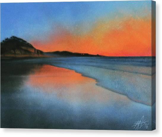 Coastal Walk Vii  Canvas Print by Robin Street-Morris