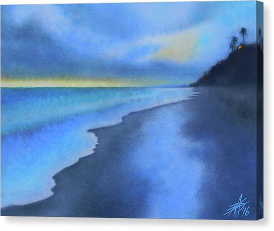 Coastal Walk Vi Canvas Print