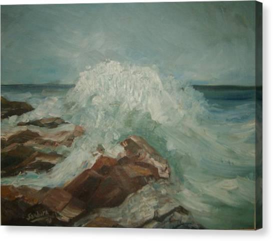 Coastal Waters Canvas Print by Joseph Sandora Jr