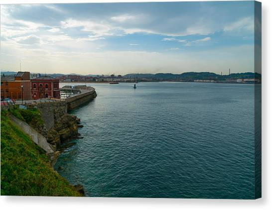 Canvas Print - Coastline Of The Bay by Ric Schafer