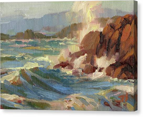 Pacific Coast Canvas Print - Coastline by Steve Henderson