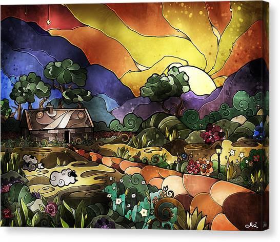 The Shepherd's Cottage Canvas Print
