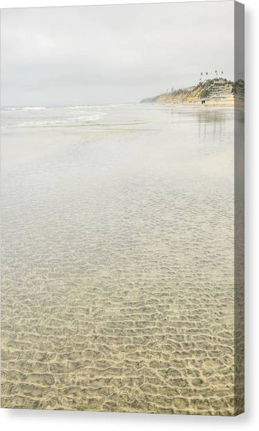 Cobblestones At Lowtide Canvas Print