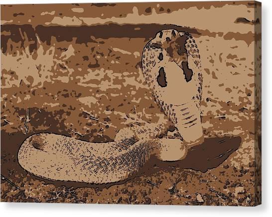 Cobra Love Canvas Print