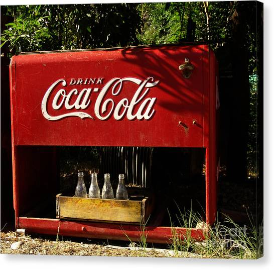 Coca Cola Canvas Print - Coca-cola by Carol Milisen