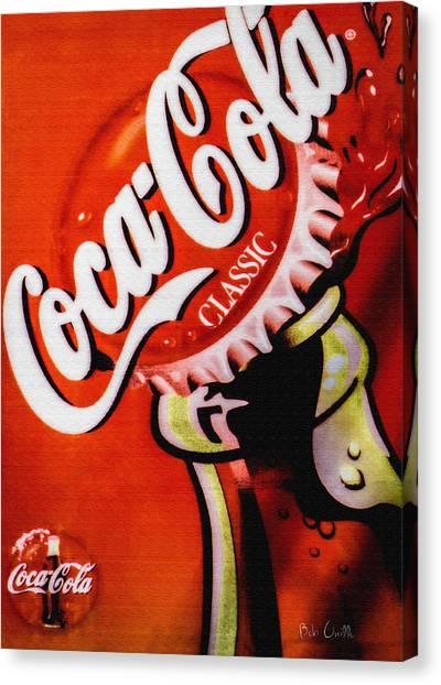 Coca Cola Classic Canvas Print