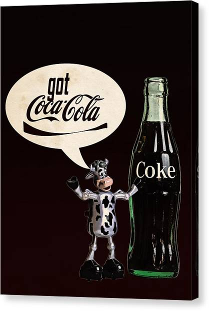 Coca-cola Forever Young 18 Canvas Print