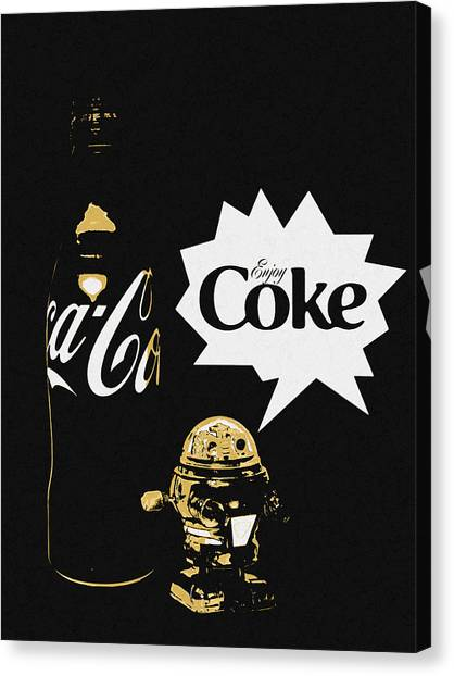 Coca-cola Forever Young 7 Canvas Print