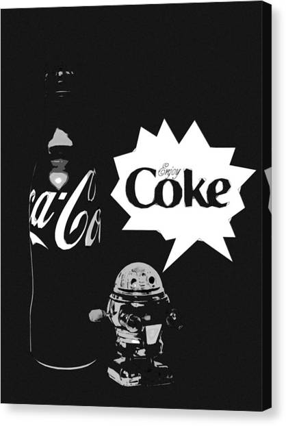 Coca-cola Forever Young 9 Canvas Print