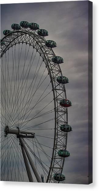 London Eye Canvas Print - Coca Cola London Eye by Martin Newman