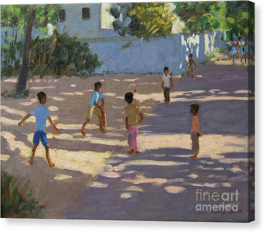 Crickets Canvas Print - Cochin by Andrew Macara