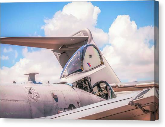 Cockpit Canvas Print