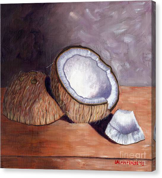 Coconut Anyone? Canvas Print